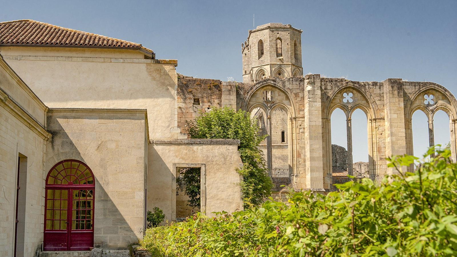 Die Abtei Sauve-Majeure. Foto: Hilke Maunder