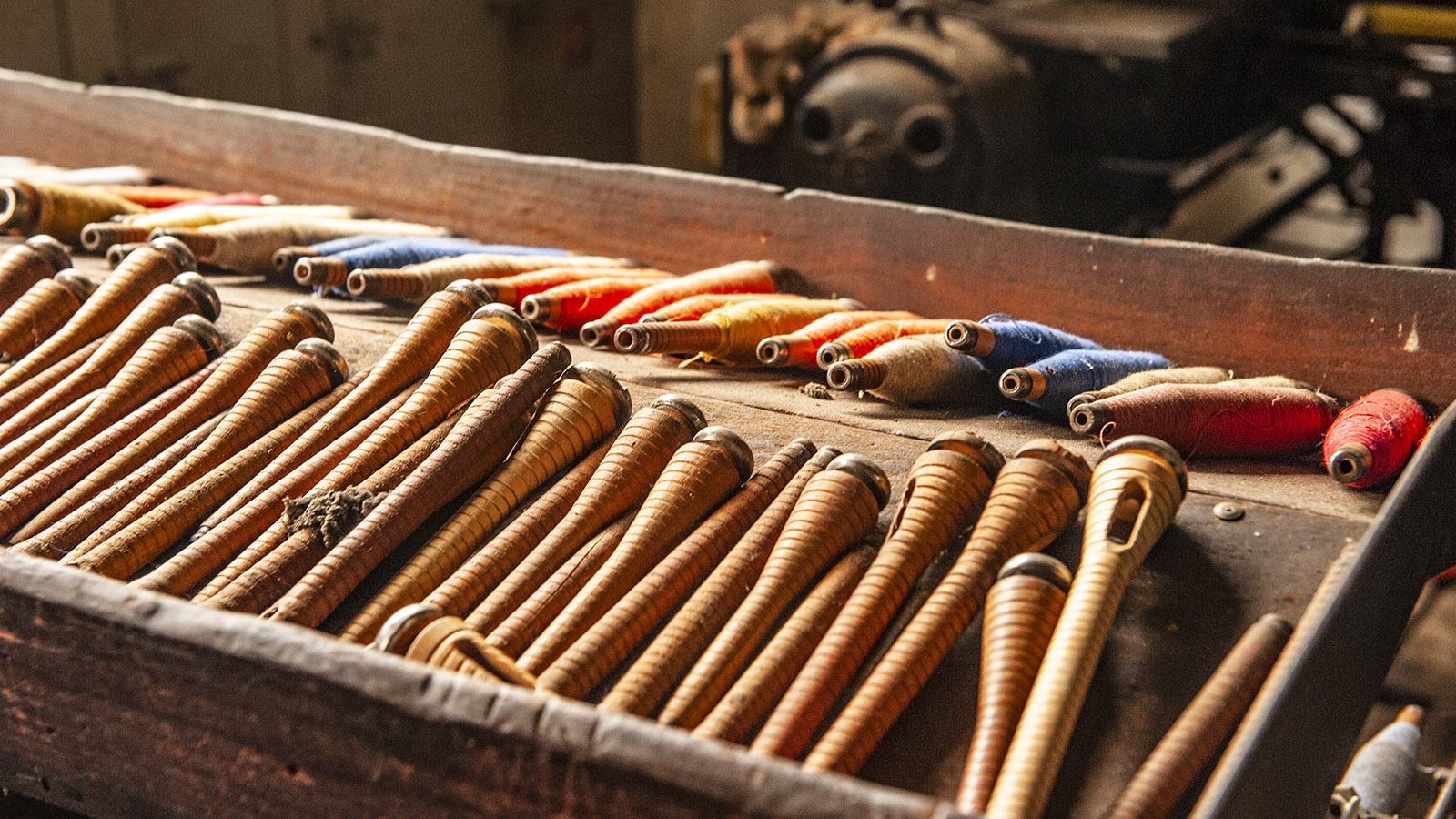 Arles-sur-Tech, Le Moulin. Werkzeuge der Weber. Foto: Hilke Maunder