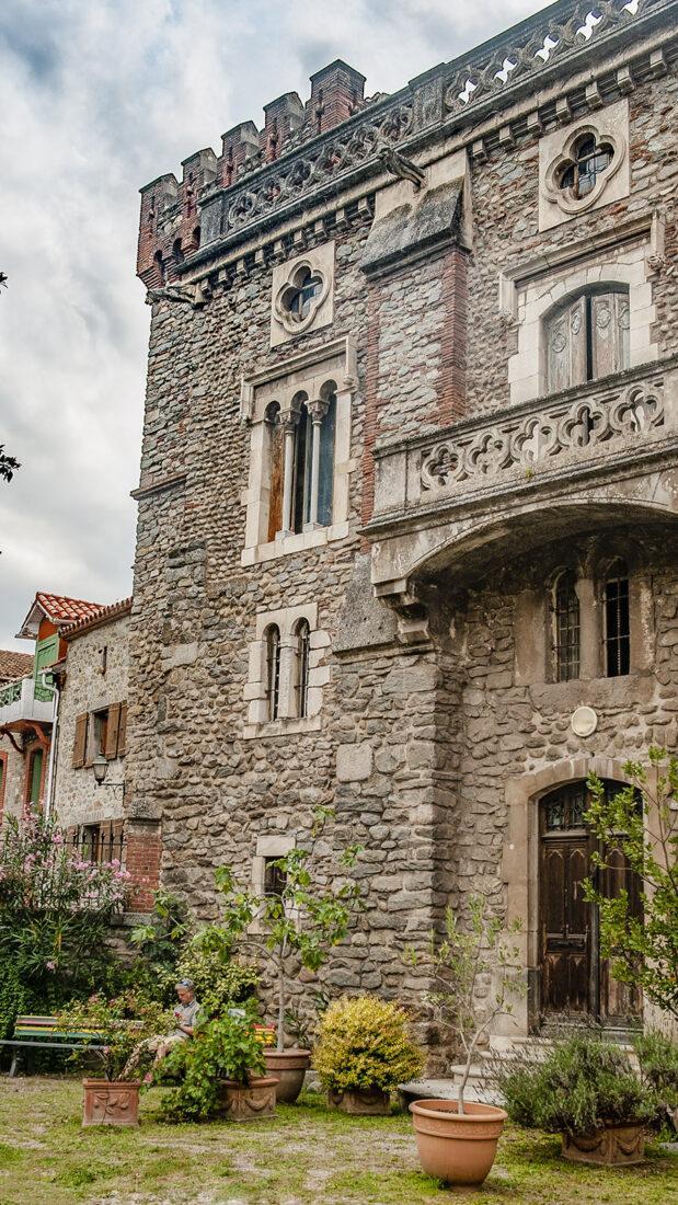 Arles-sur-Tech: das Rathaus. Foto: Hilke Maunder