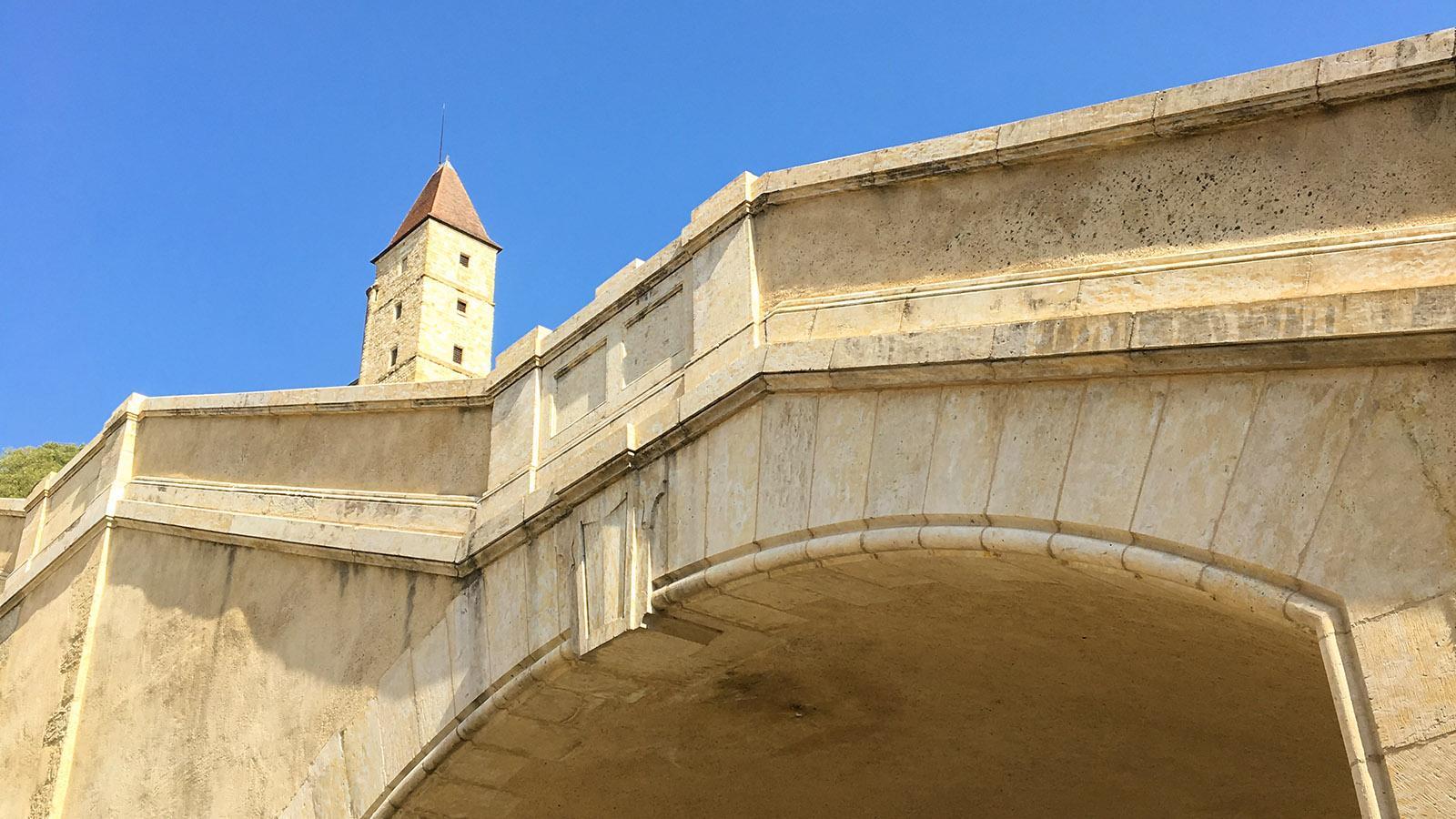 Auch: Tour D'Artagnan an der Monumentaltreppe. Foto: Hilke Maunder