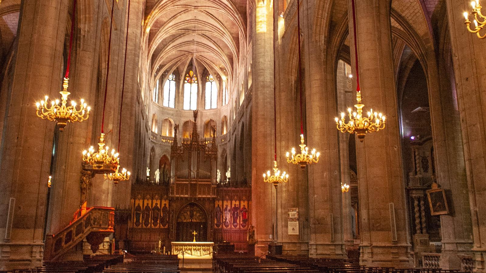 In der Kathedrale von Auch. Foto: Hilke Maunder