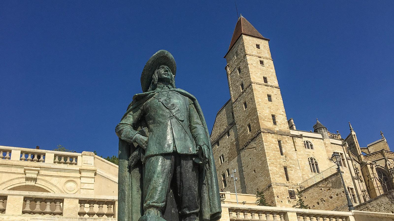 Auch: D'Artagnan und die Tour d'Armagnac. Foto: Hilke Maunder