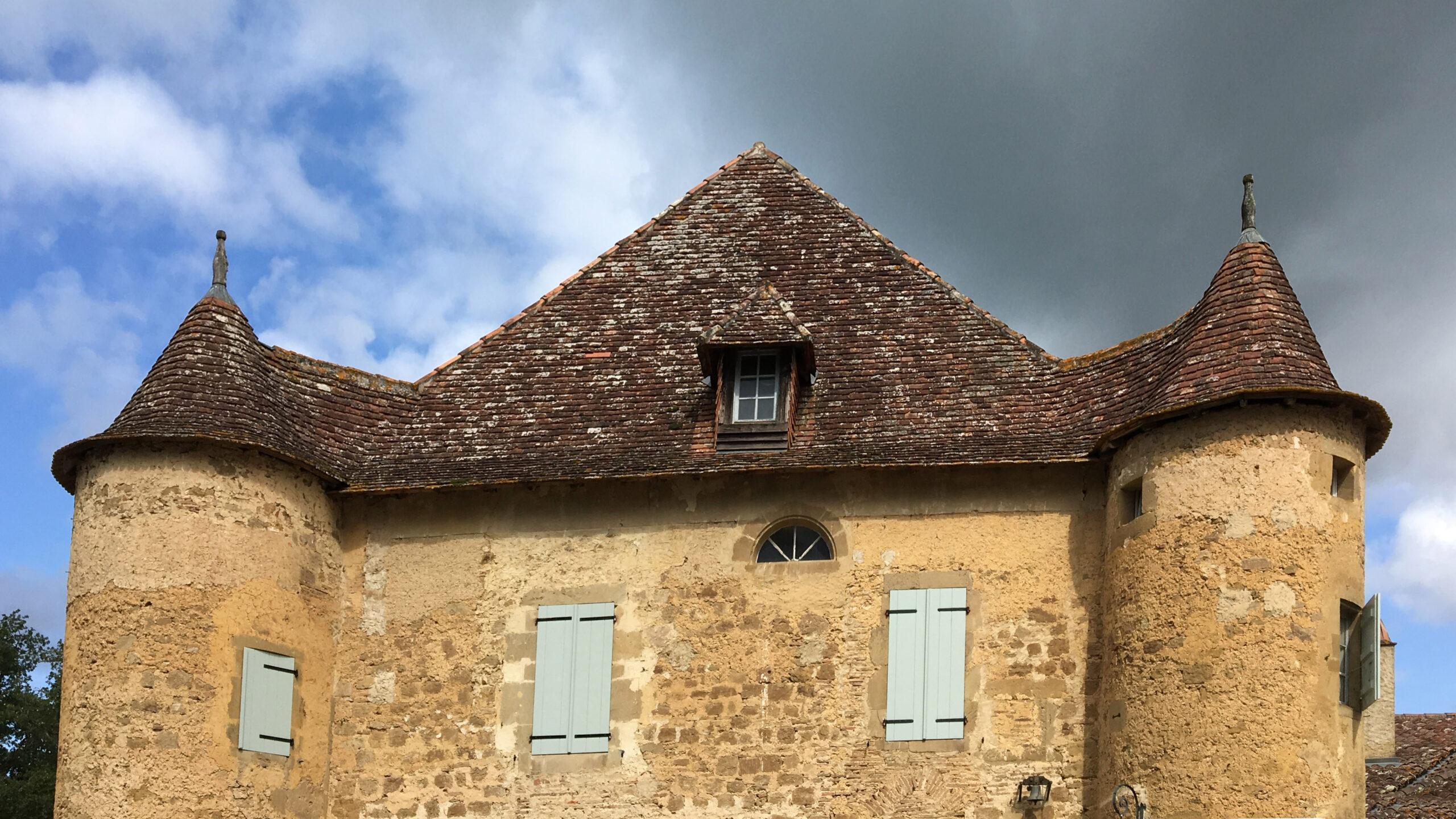 Château Sabazan. Foto: Hilke Maunder