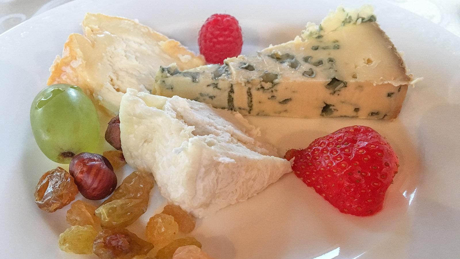 Käse schließt auch an Bord von MS L'Impressioniste den Magen. Foto: Hilke Maunder
