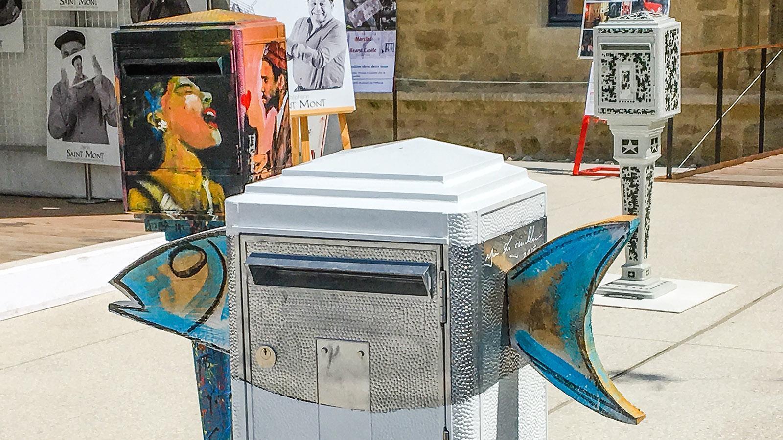 Briefkasten in Marciac. Foto: Hilke Maunder