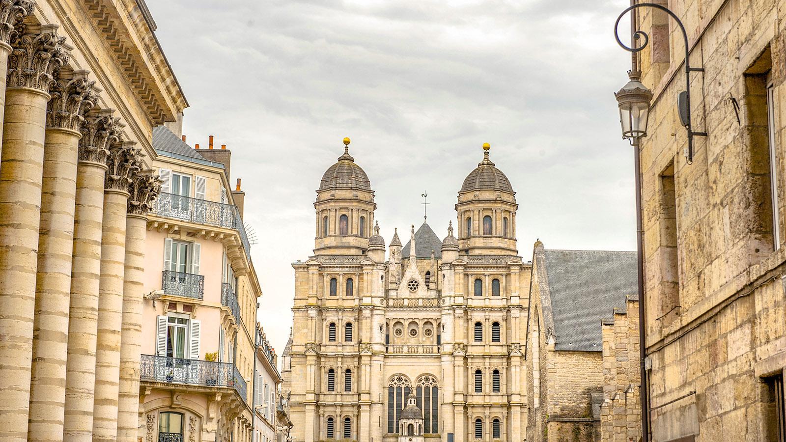 Dijon: die Kathedrale. Foto: Hilke Maunder