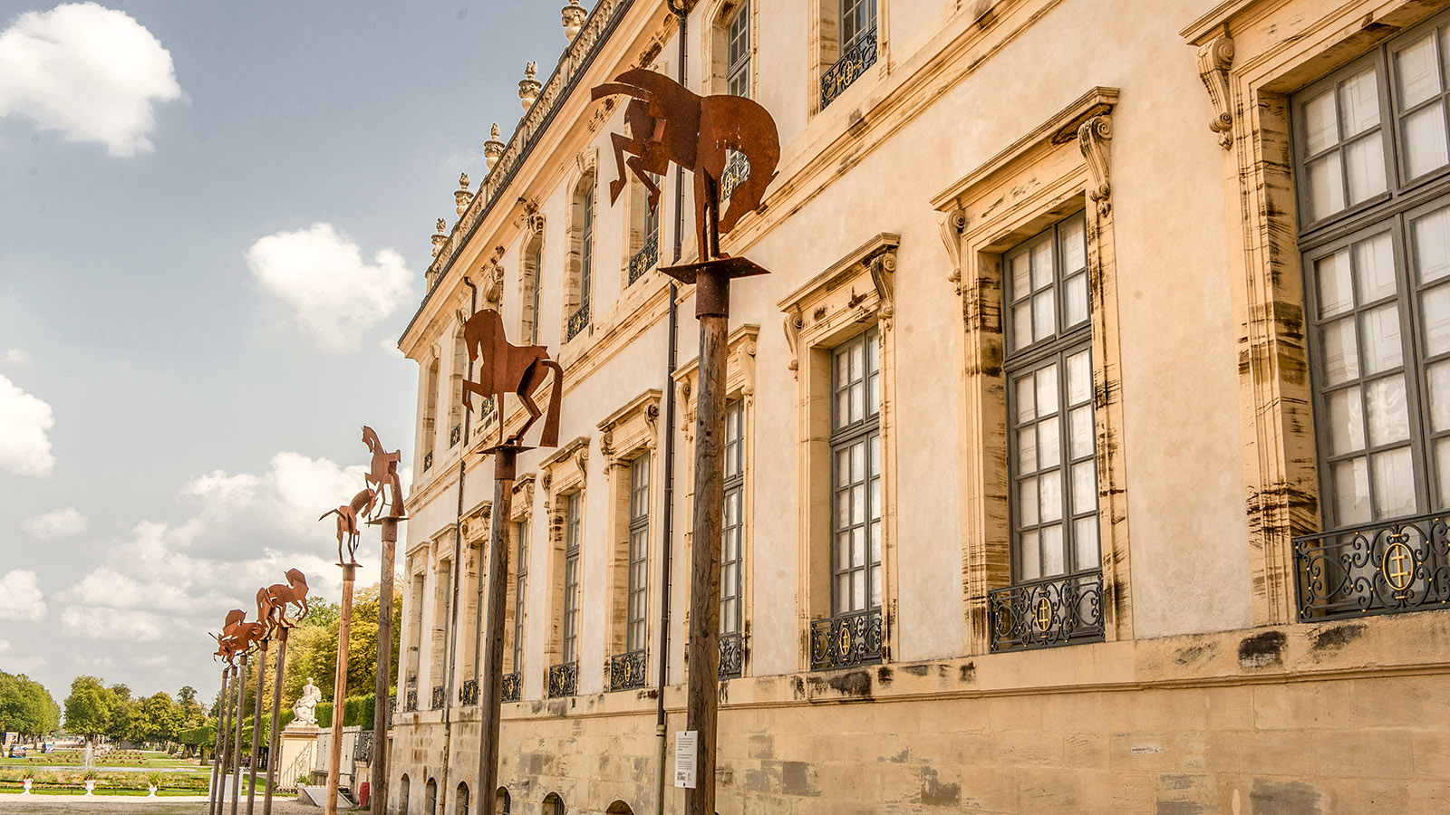 Das Château des Lumières von Lunéville. Foto: Hilke Maunder