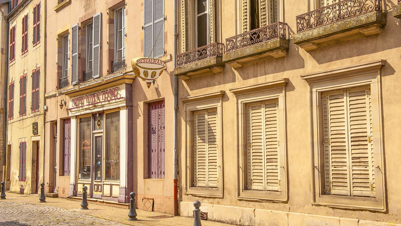 Im Stadtzentrum von Lunéville. Foto: Hilke Maunder
