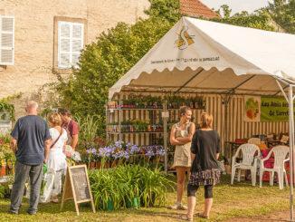 Couvent Saint-Ulrich: Les Jardins en Fête. Foto: Hilke Maunder