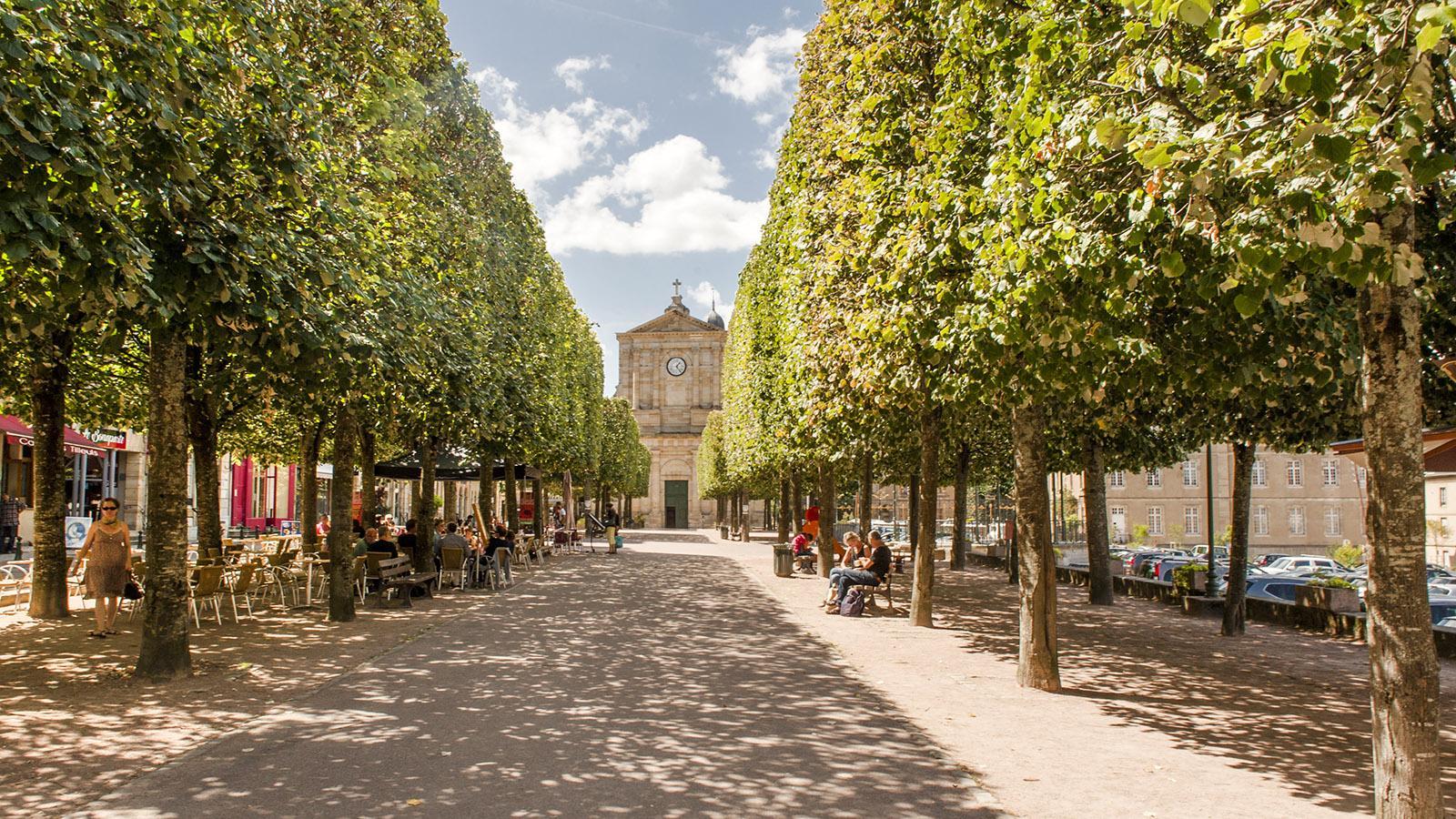 Autun: Rue du Champs de Mars. Foto: Hilke Maunder