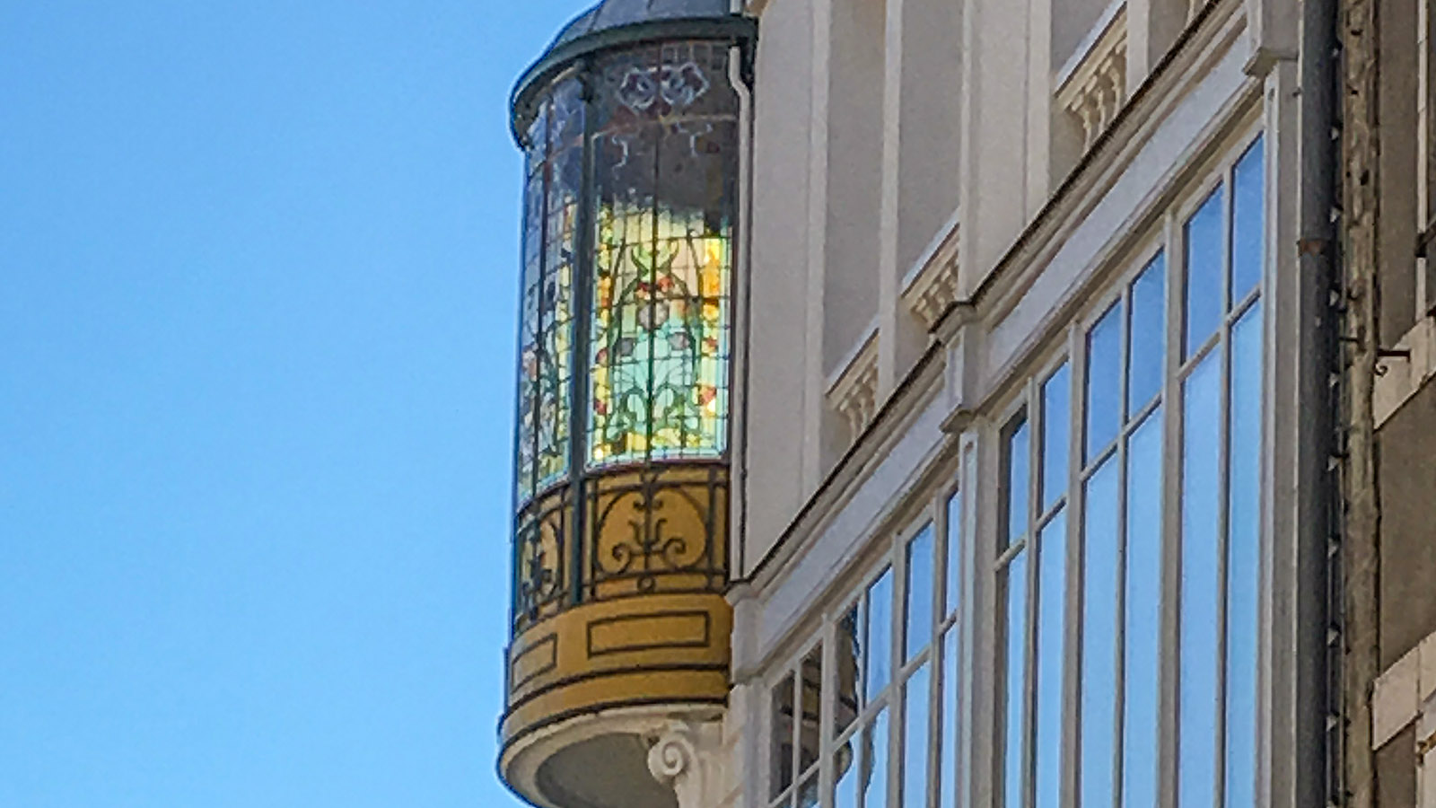 Saint-Gaudens, Erker, Foto: Hilke Maunder