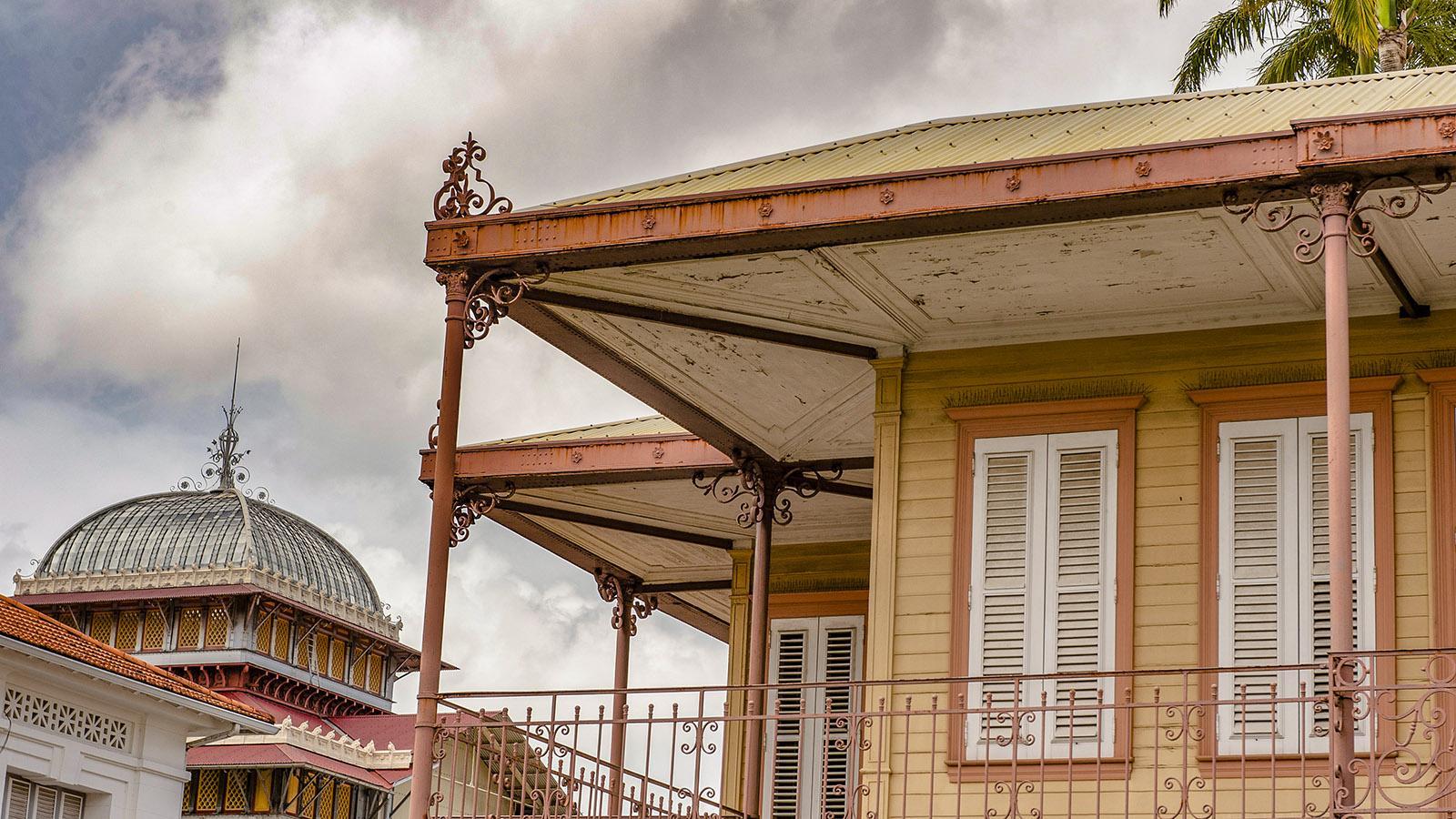 Fort-de-France: Pavillon Bougenot. Foto: Hilke Maunder
