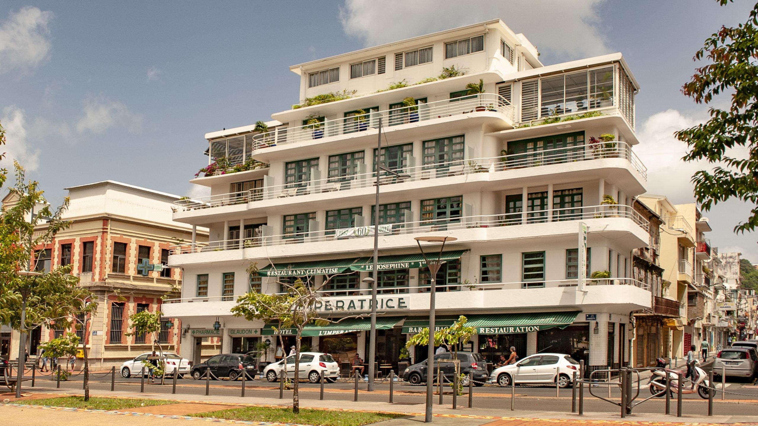 Fort-de-France: Dieses Hotel ist eine Institution in der Inselhauptstadt. Foto: Hilke Maunder