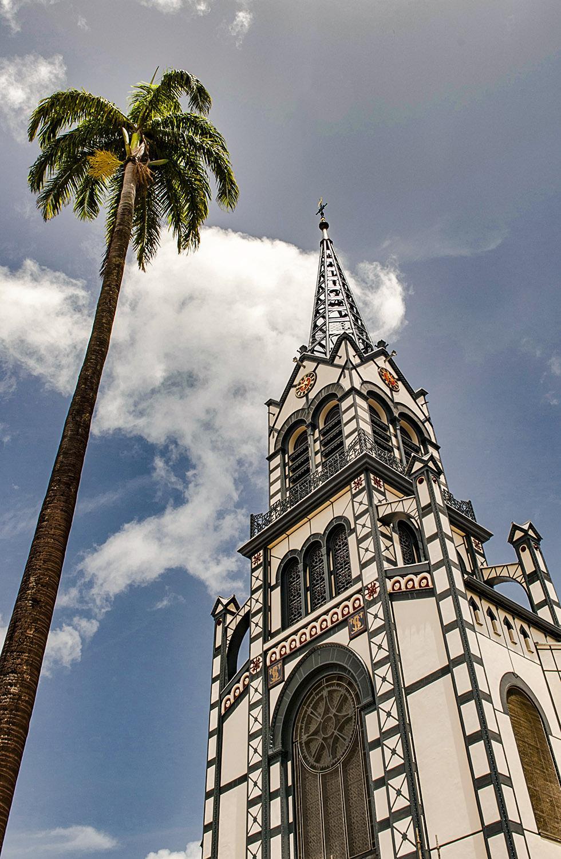 Die Kathedrale von Fort-de-France. Foto: Hilke Maunder