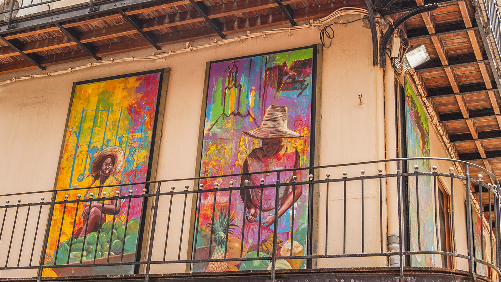 Fort-de-France: Street Art, gespottet in der Rue Schœlcher. Foto: Hilke Maunder