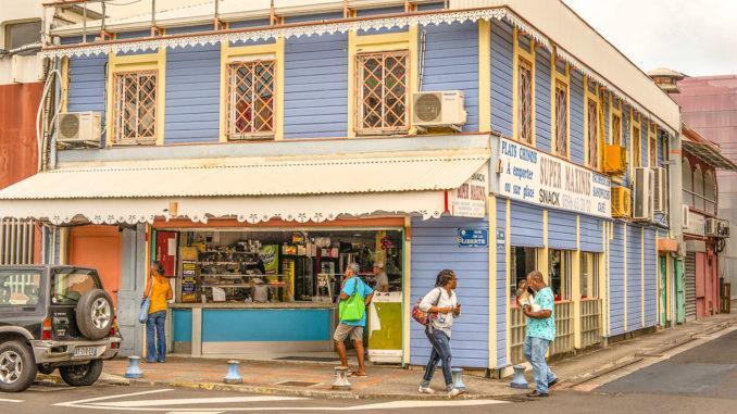 Karibisch bunt: Fort-de-France. Foto: Hilke Maunder
