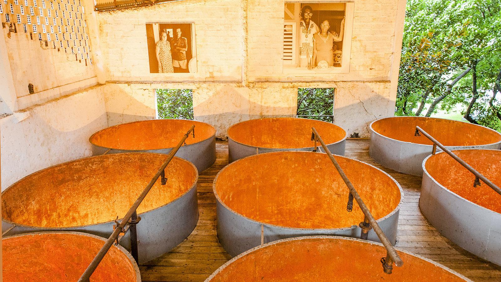 Rum-Herstellung auf Martinique: Habitation Clément. Foto: Hilke Maunder