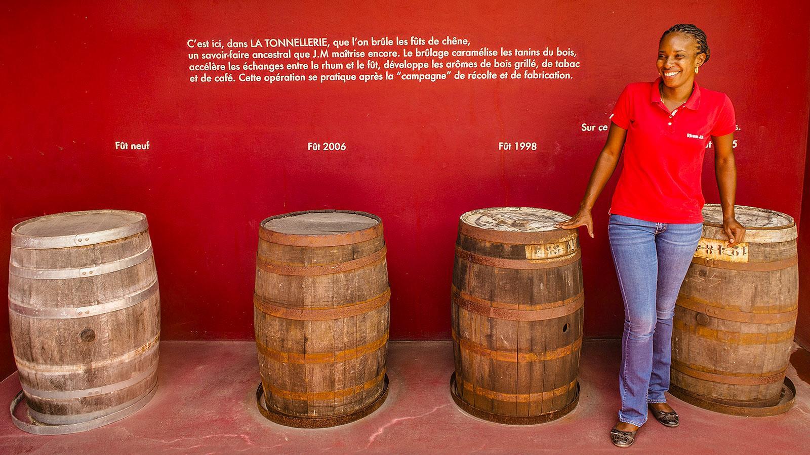 Rum von Martinique: Aurelia Bapte, Führerin von Rhum J.M. Foto: Hilke Maunder