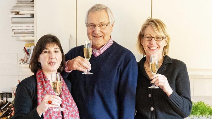 Champagner-Genuss. Foto: Hilke Maunder