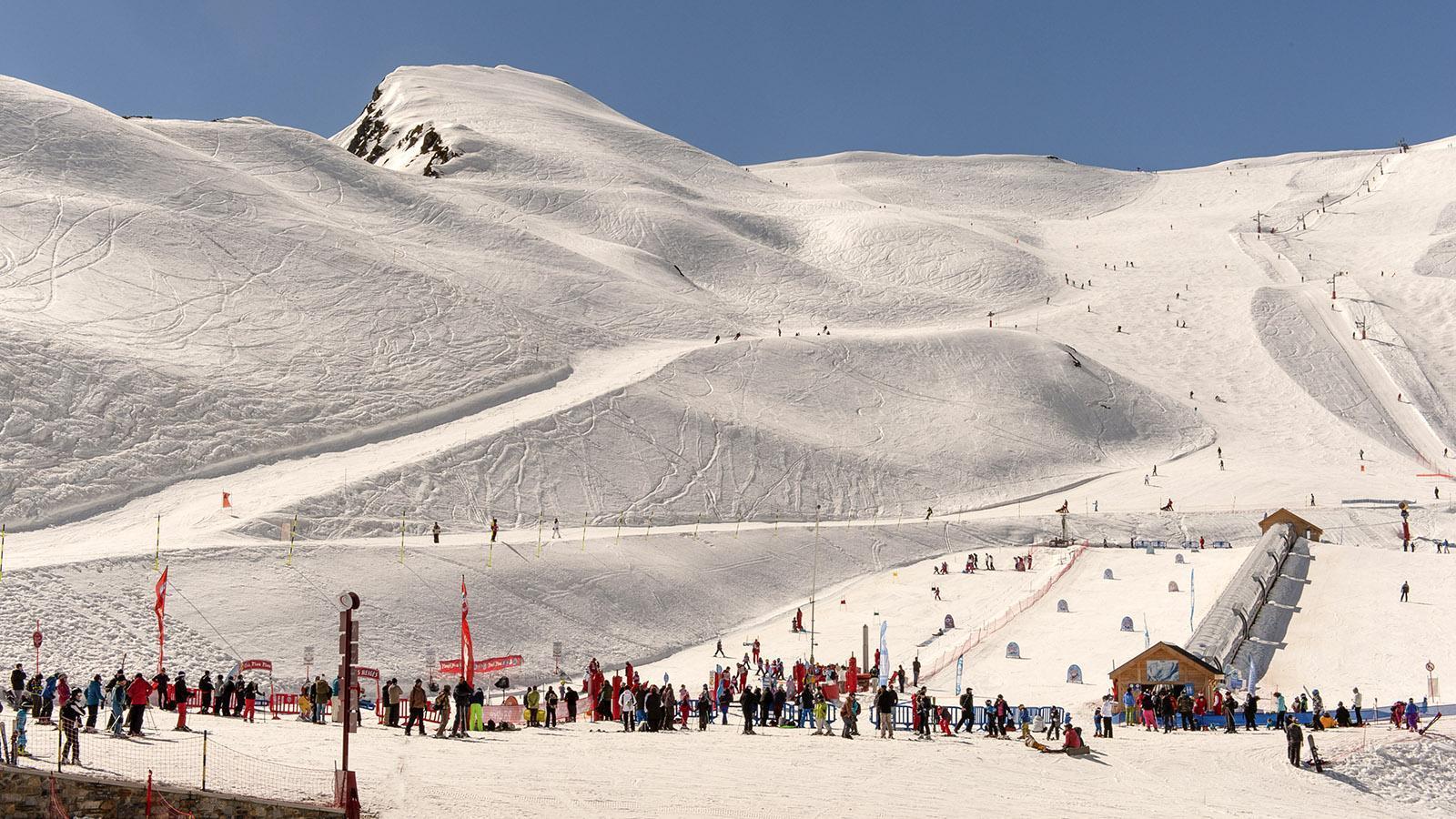 Cirque de Lys, das Skigebiet von Cauterets. Foto: Hilke Maunder