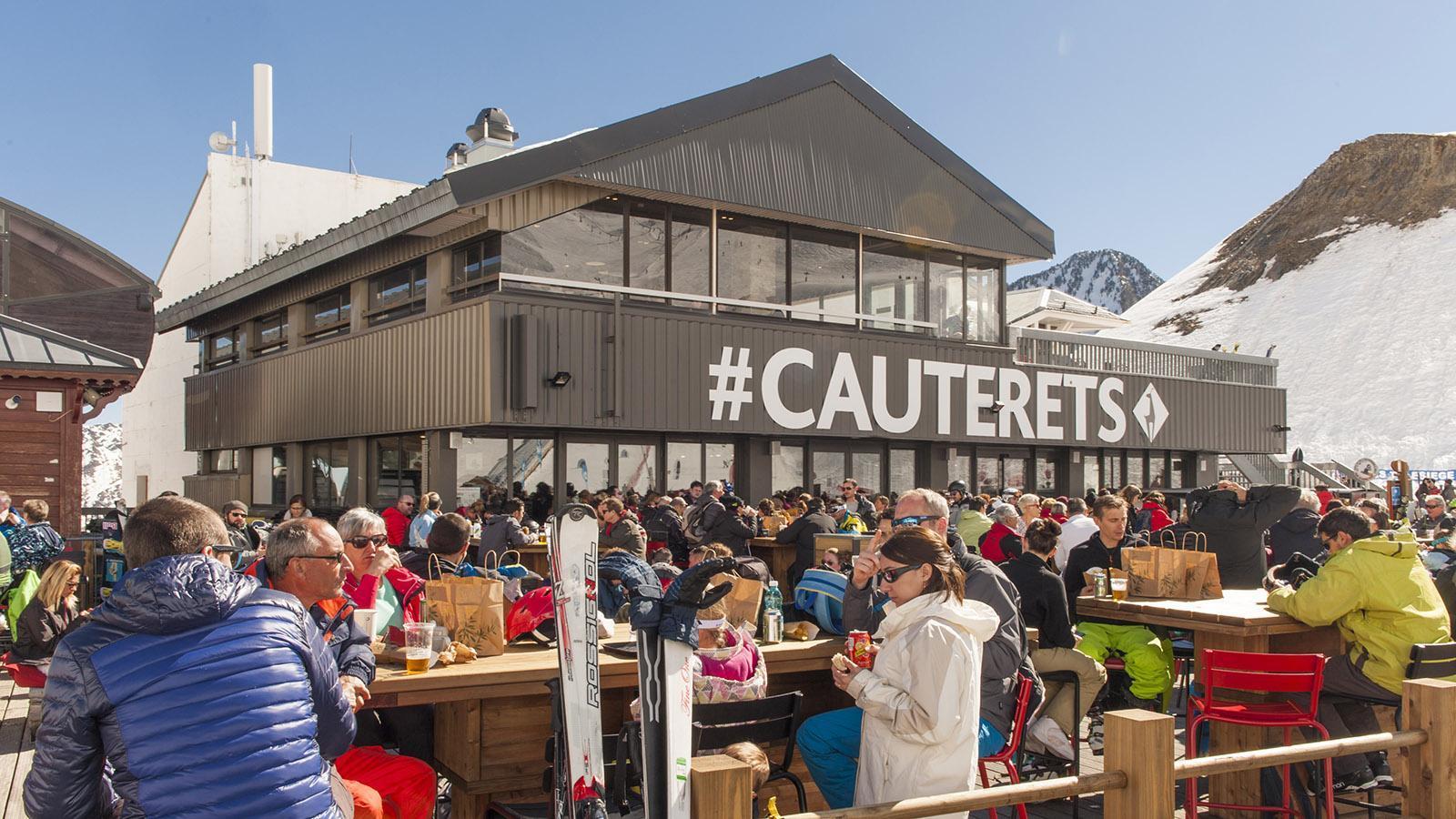 Szenig: das Skigebiet Cirque de Lys oberhalb von Cauterets. Foto: Hilke Maunder