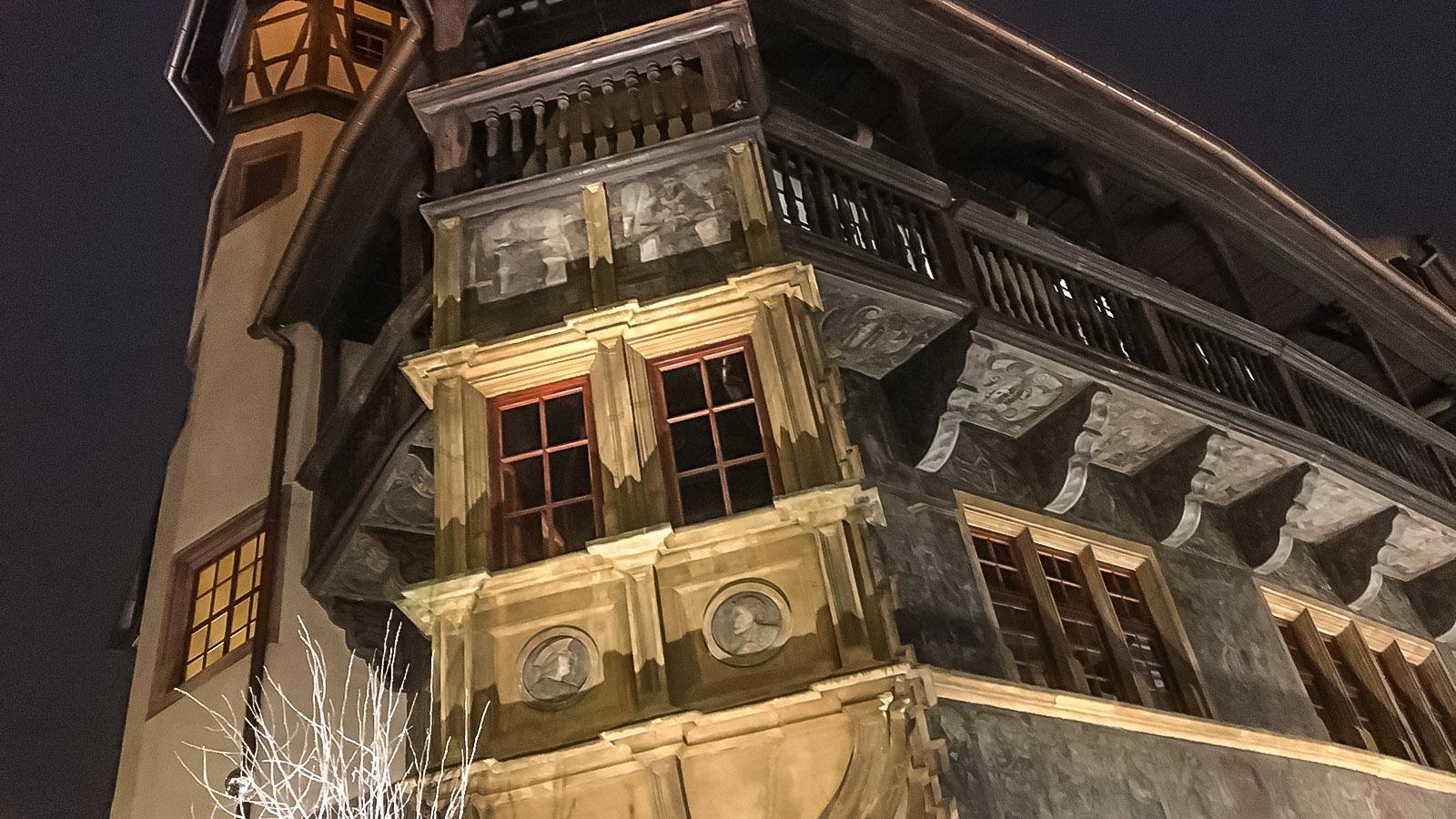 Weihnachten in Colmar - auch im Köifhaus. Foto: Hilke Maunder