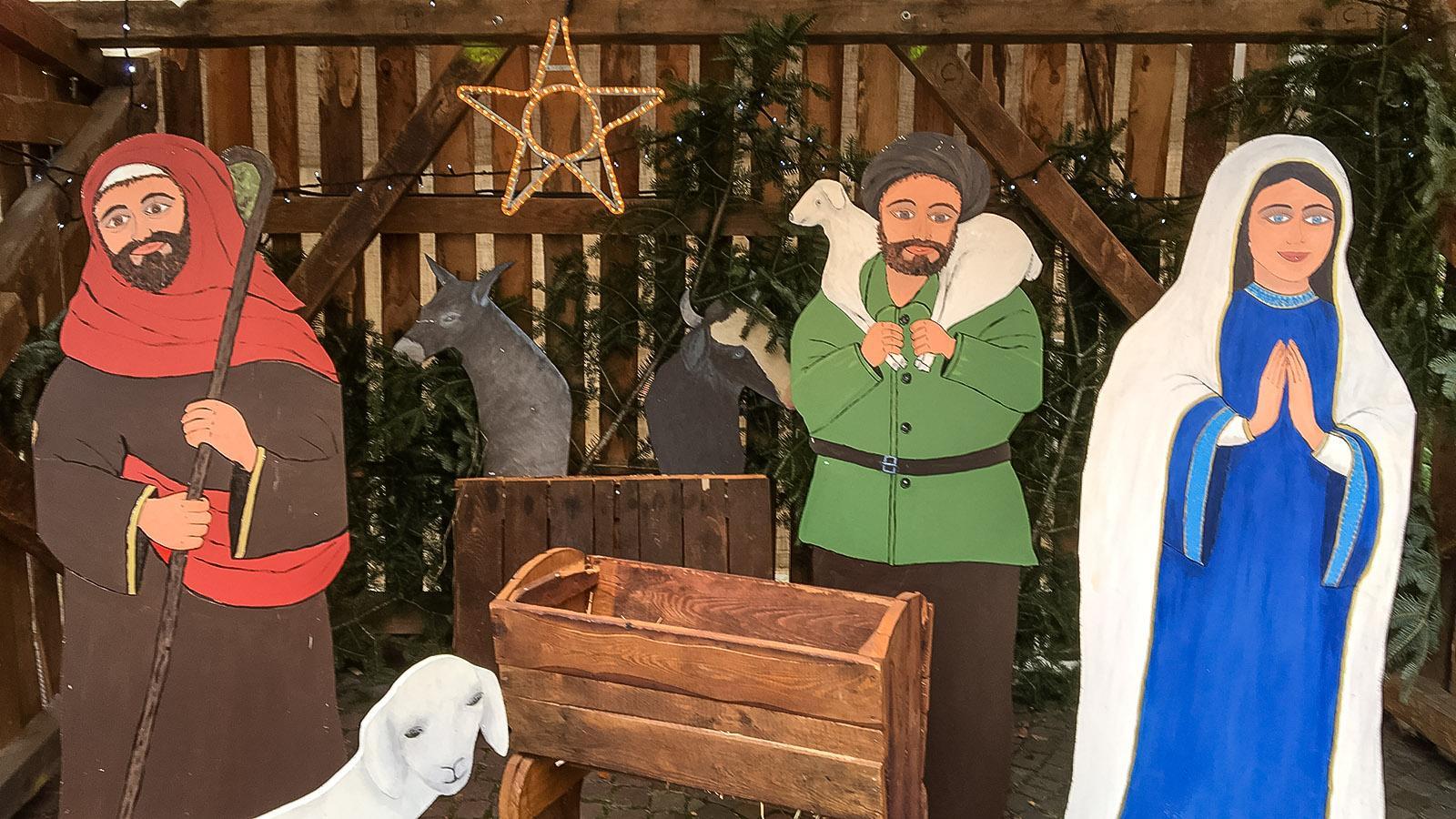 Adventszeit in Eguisheim. Foto: Hilke Maunder