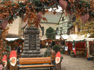 Adventszeit in Eguisheim. Foto: Hilke Maunder