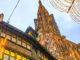 Weihnachtsmärkte: Das Straßburger Münster und die Maison Kammerzell im weihnachtlichen Licht. Foto: Hilke Maunder