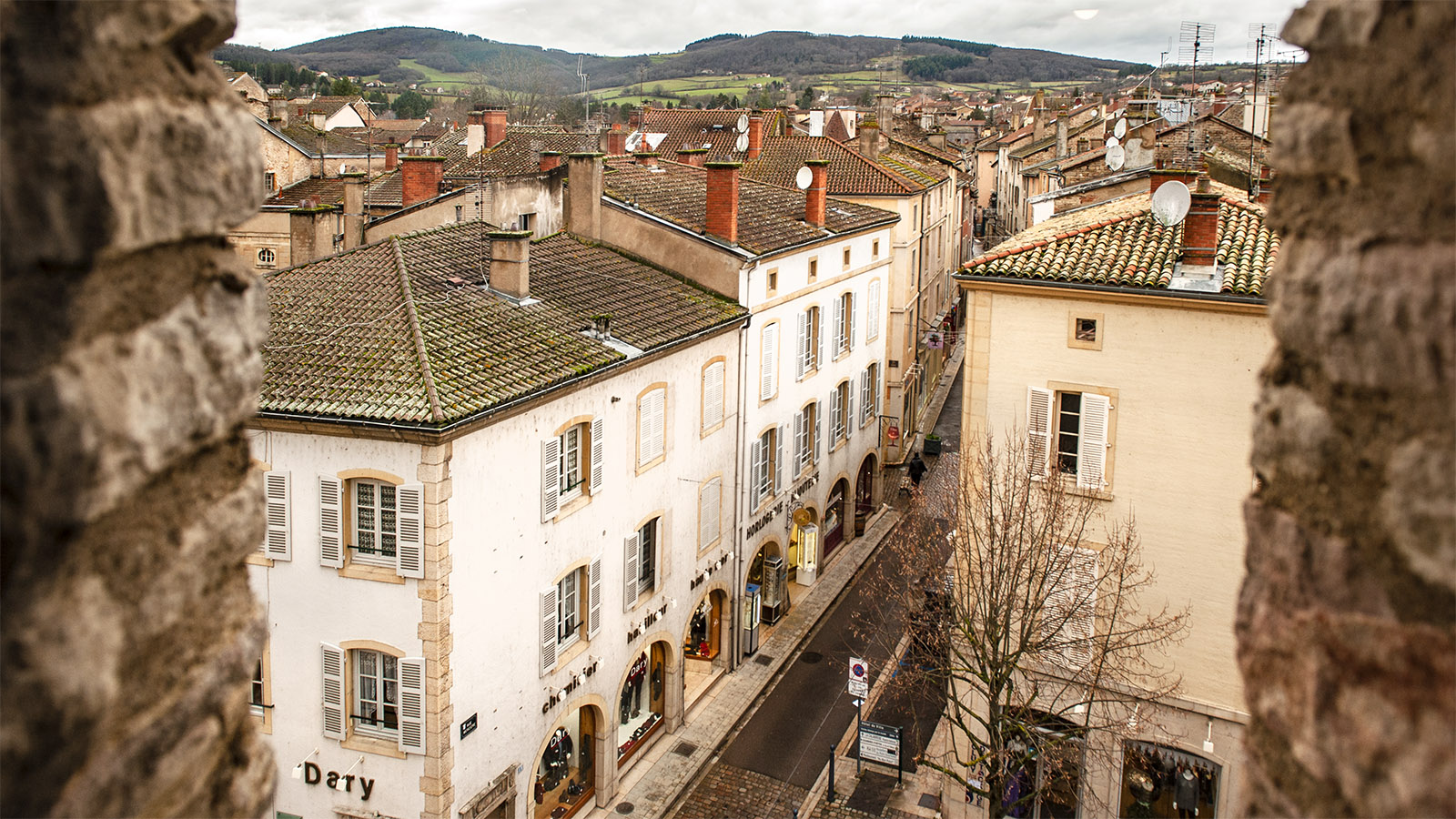 Cluny. Blick von der Tour de Fromager. Foto: Hilke Maunder