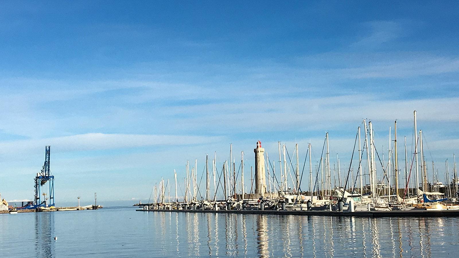 Im Hafen von Sète. Foto: Hilke Maunder