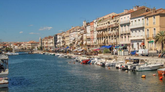 Der Hauptkanal von Sète. Foto: Hilke Maunder