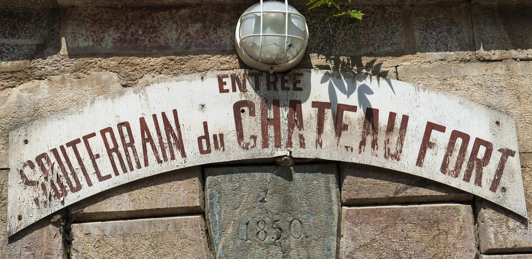 Villefranche-de-Conflent: unterirdischer Gang zum Château Fort. Foto: Hilke Maunder