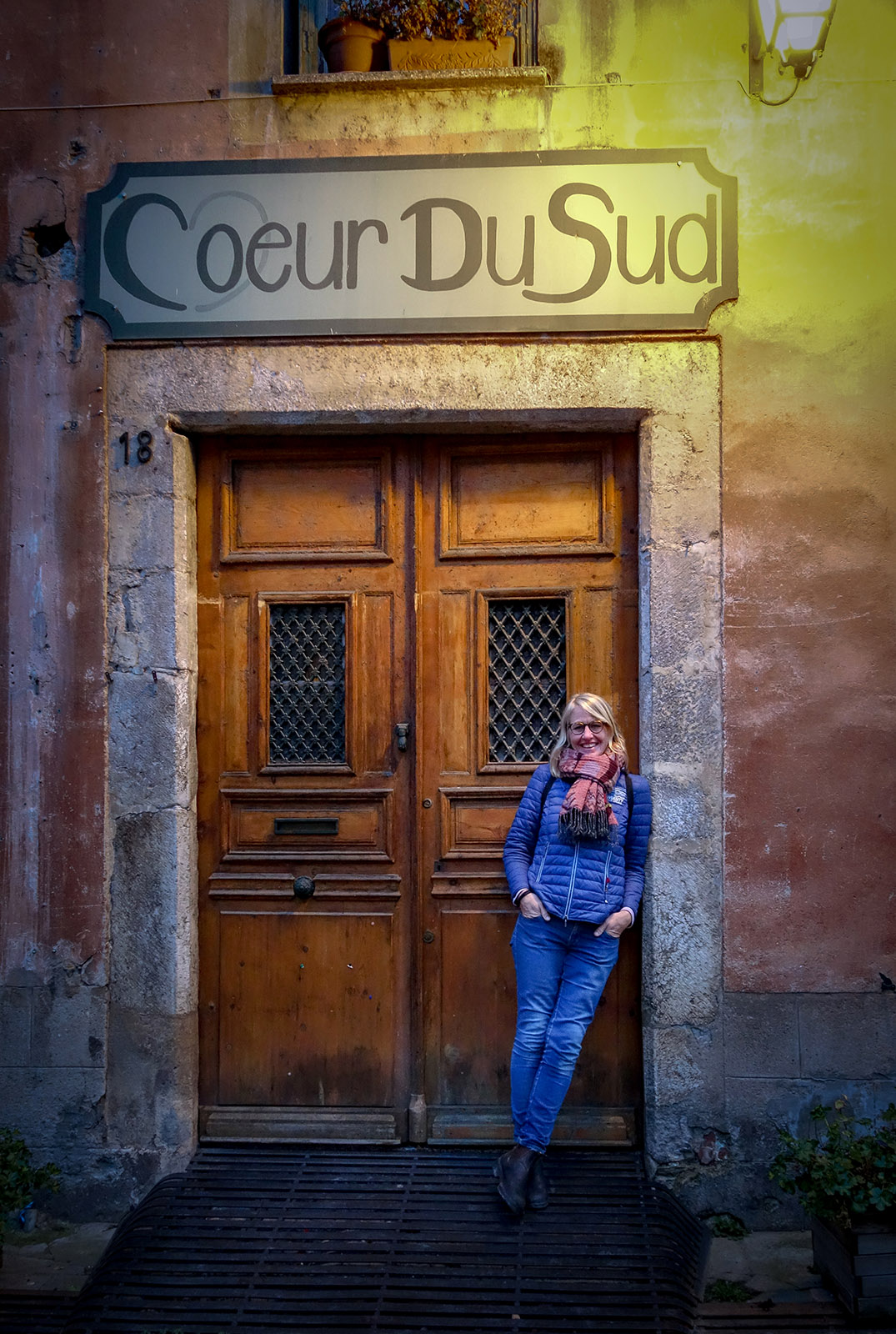 Villefranche: Lieblingsportal. Foto: Hilke Maunder