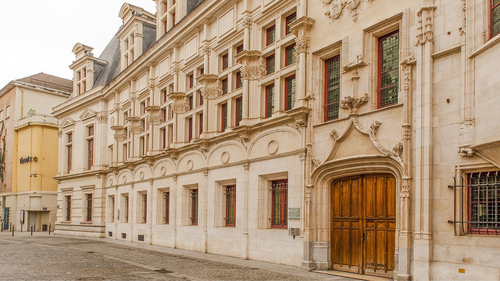 Der Ancien Palais du Parlement von Grenoble. Foto: Hilke Maunder