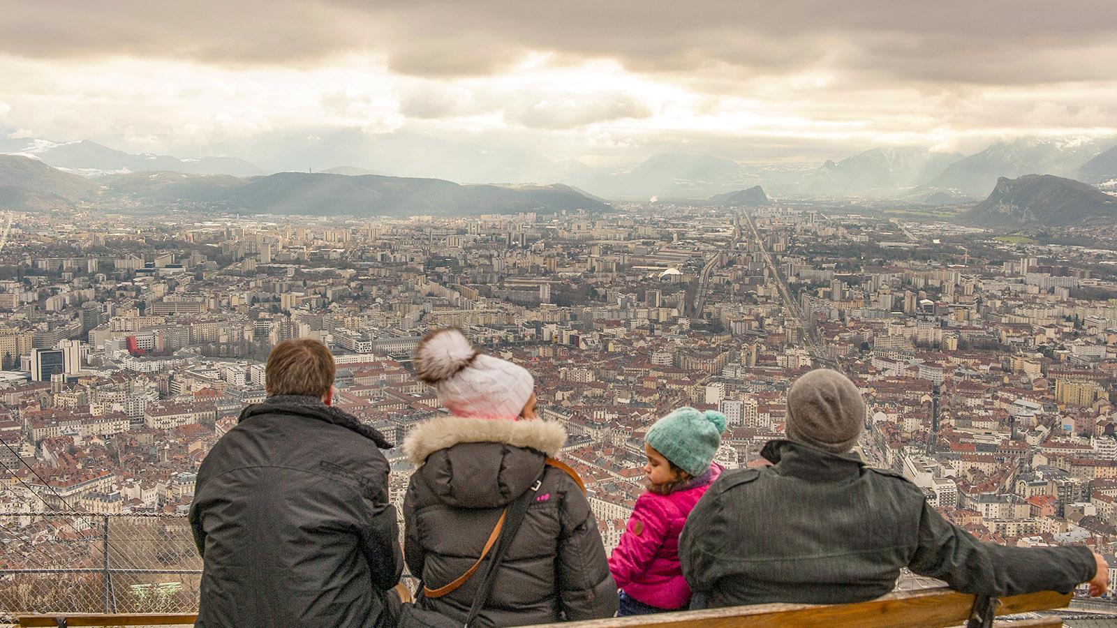 Die Bastille von Grenoble ist ein beliebter Aussichtspunkt und Start für zahlreiche Wanderungen. Foto: Hilke Maunder