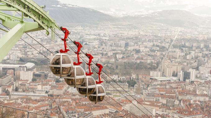Grenoble: die Bulles. Foto: Hilke Maunder
