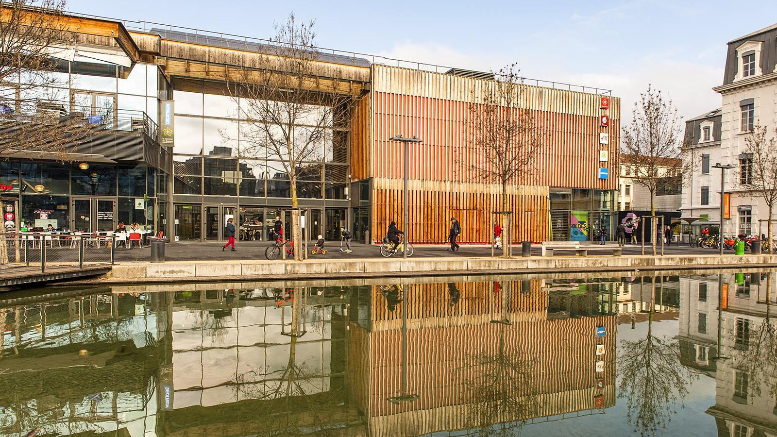 Ökoviertel mit Ambiente: Caserne de Bonne. Foto: Hilke Maunder