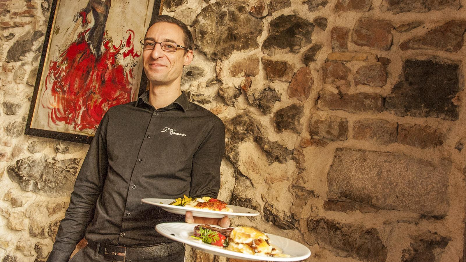 Einfach köstlich: die Speisen im L'Épicurien. Foto: Hilke Maunder