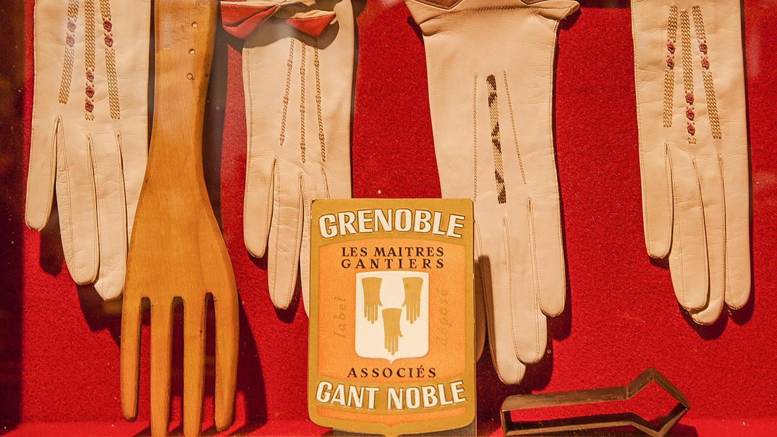 Feinstes Zickleinleder: Handschuhe aus Grenobel