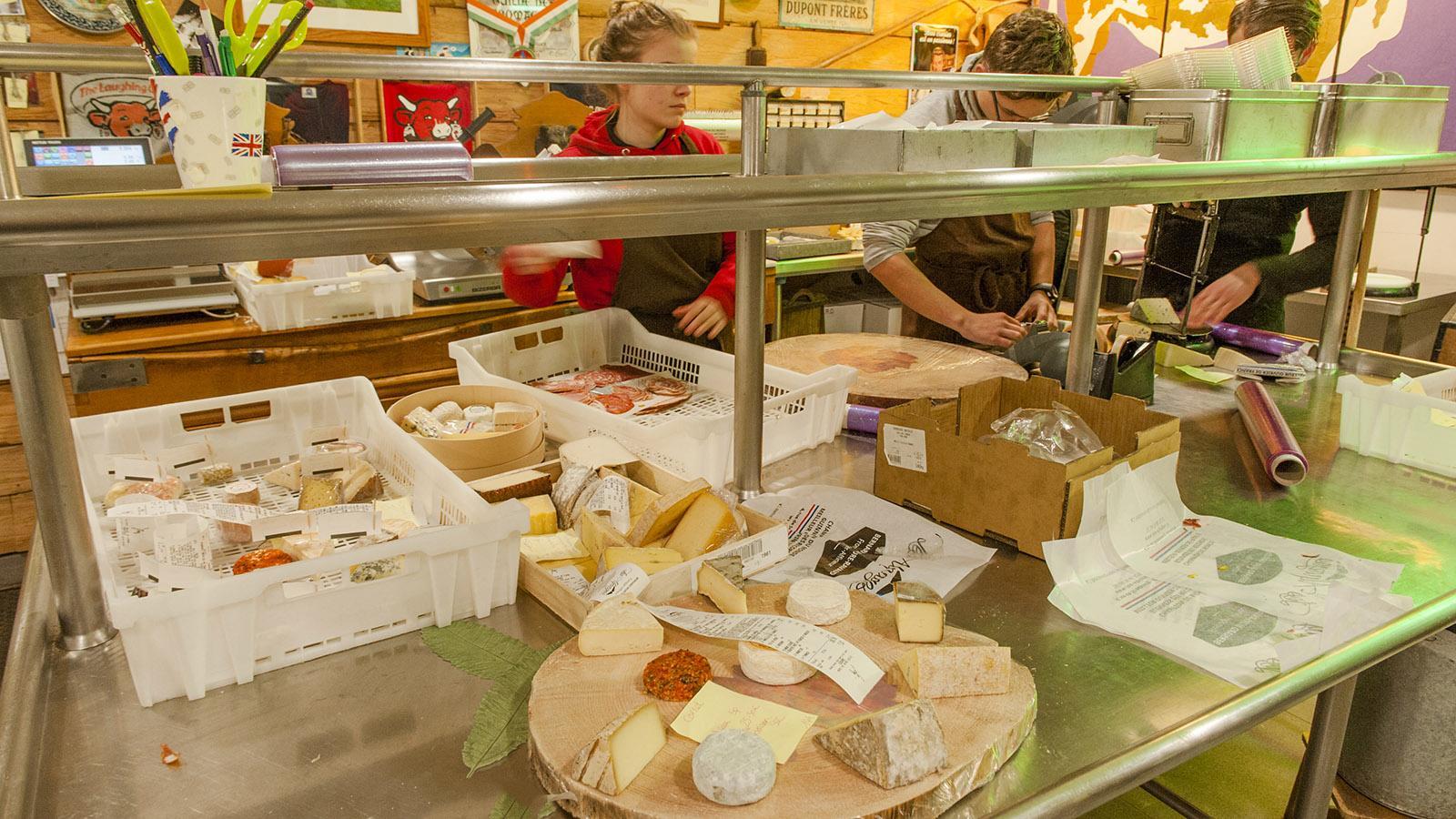 Hach! Hier einmal nach Herzenslust einfach nur drauflos bestellen… Käse… und was für einer! Foto: Hilke Maunder