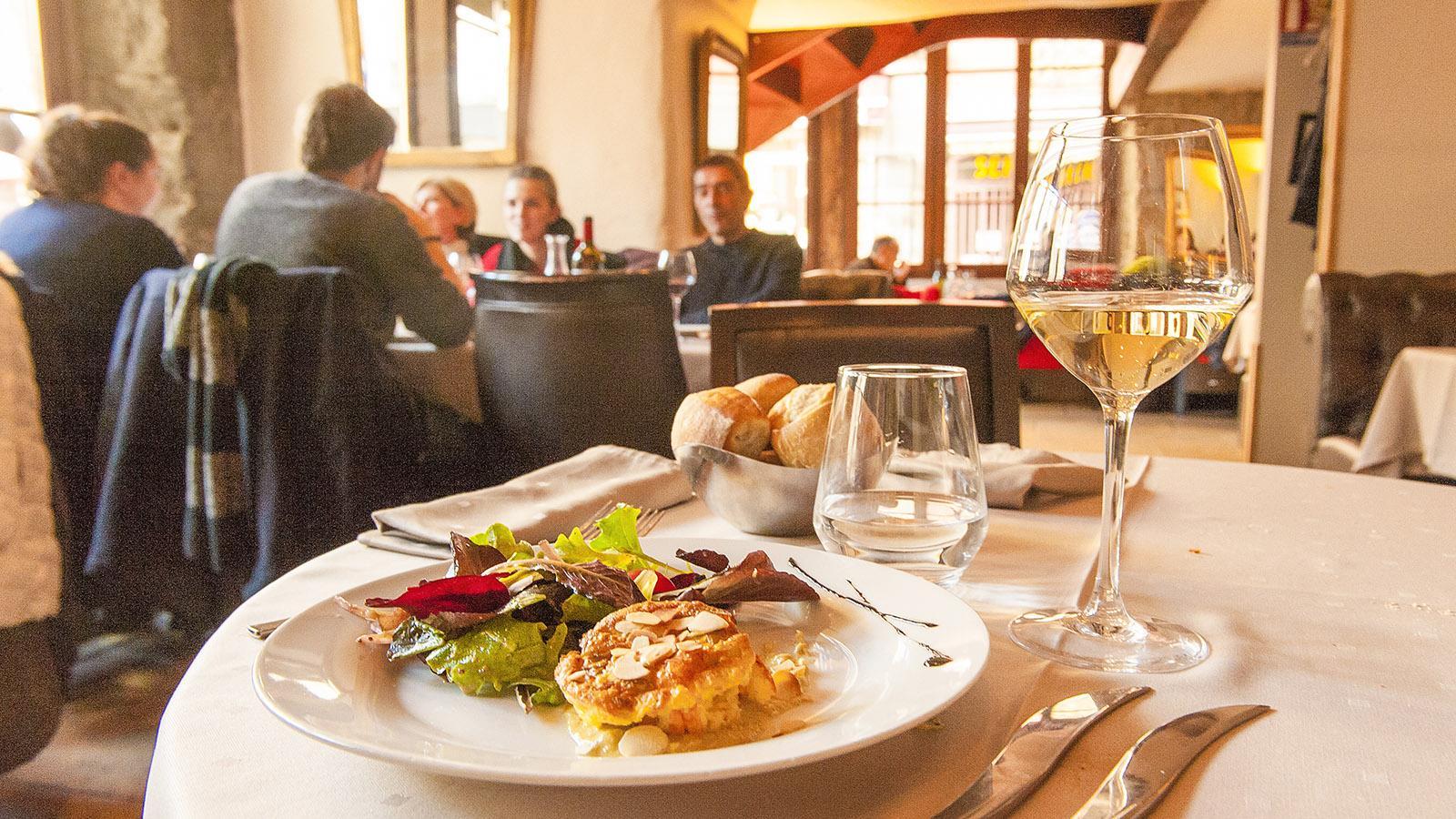 Mittags im L'Épicurien. Foto: Hilke Maunder