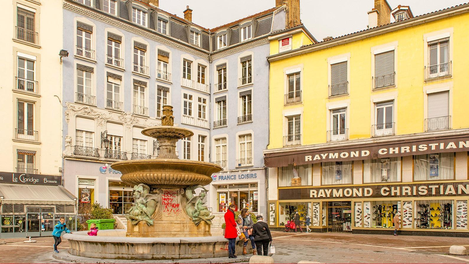 Die Place Grenette von Grenoble. Foto: Hilek Maunder