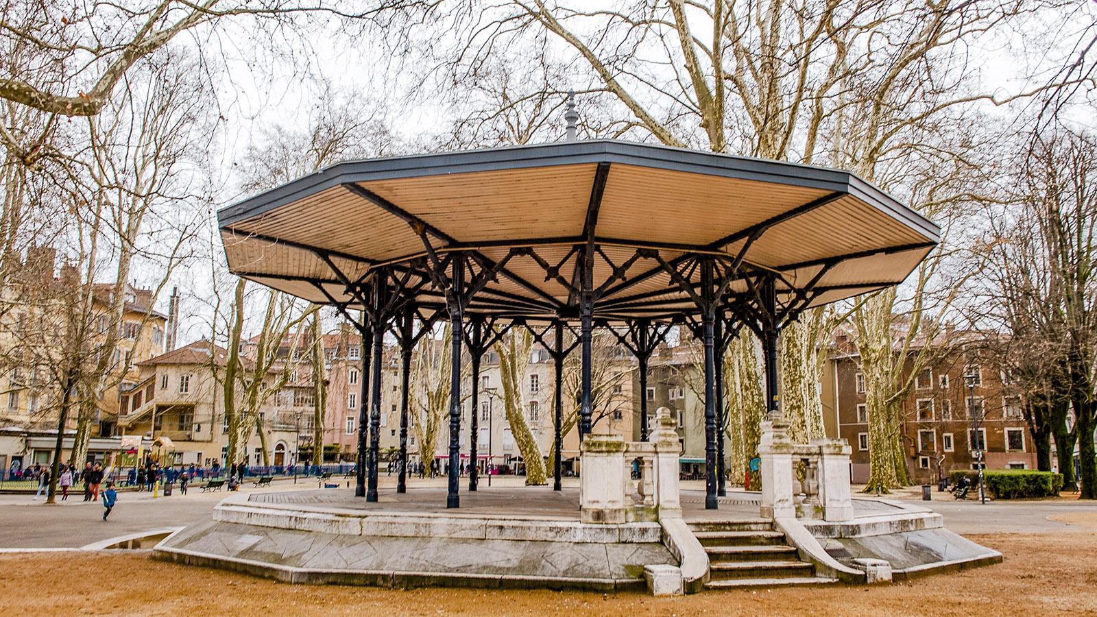 Der Musikpavillon des Stadtparks. Foto: Hilke Maunder