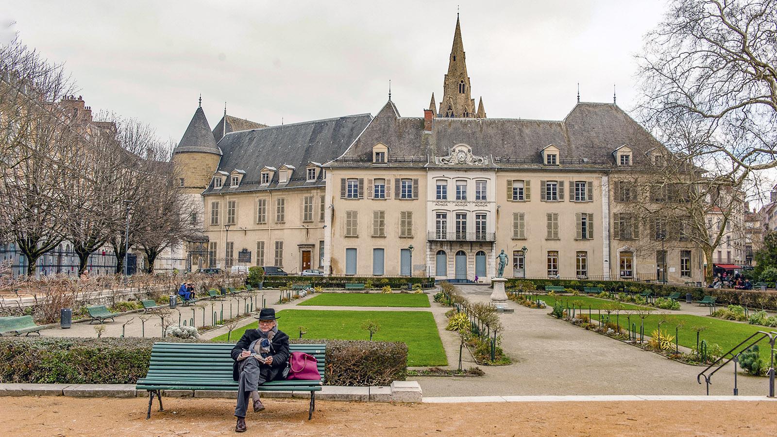 Im Stadtpark von Grenoble. Foto: Hilke Maunder