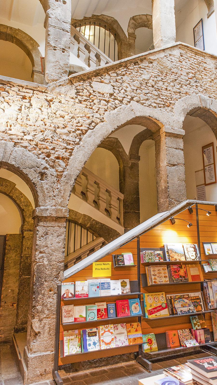 Das Geburtshaus von Stendhal birgt heute eine gute Buchhandlung. Foto: Hilke Mander