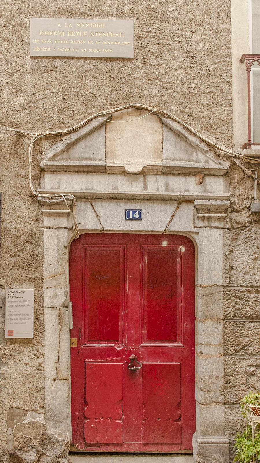 Das Geburtshaus von Stendhal. Foto: Hilke Maunder