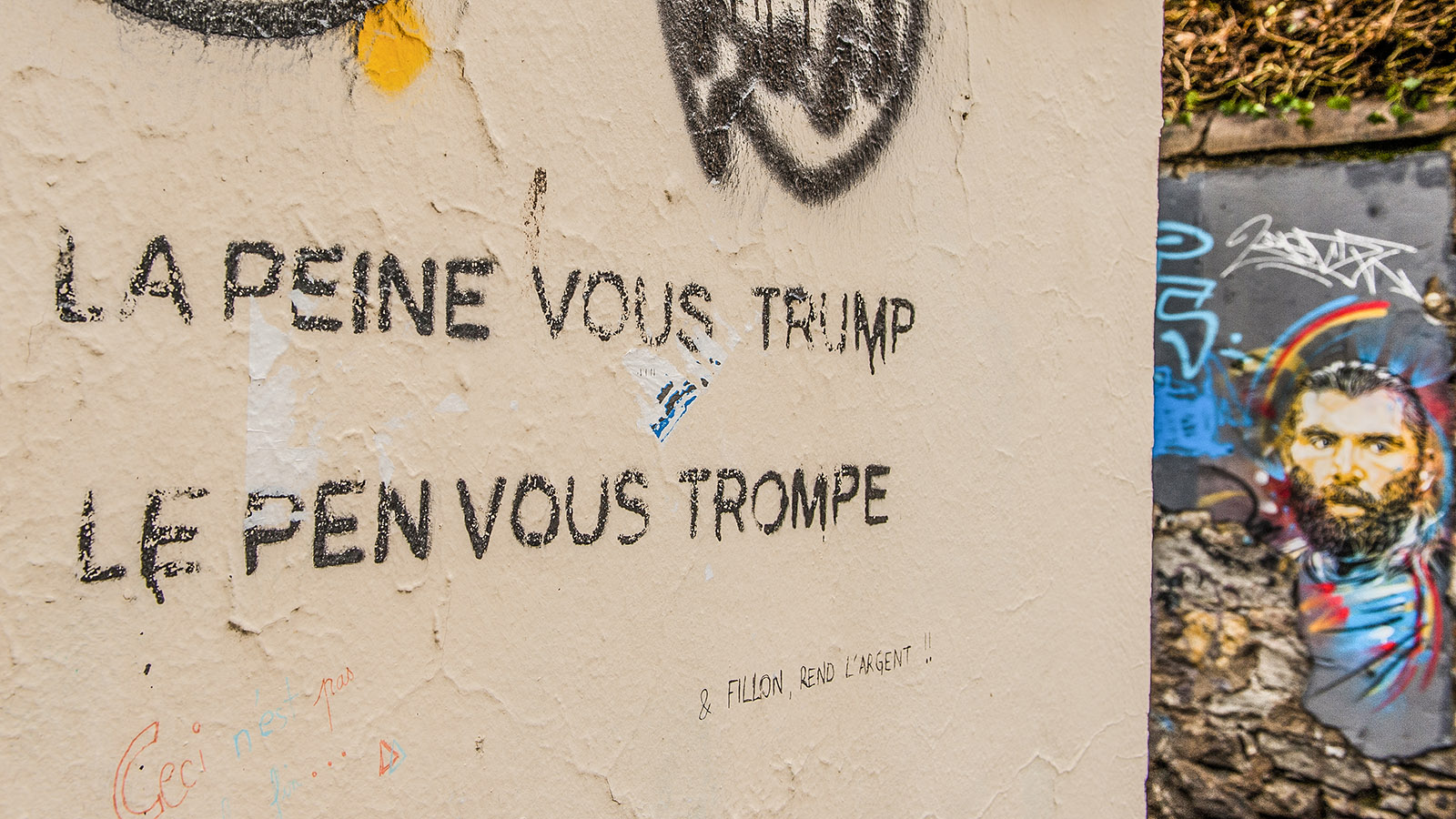 Street Art in Grenoble. Foto: Hilke Maunder