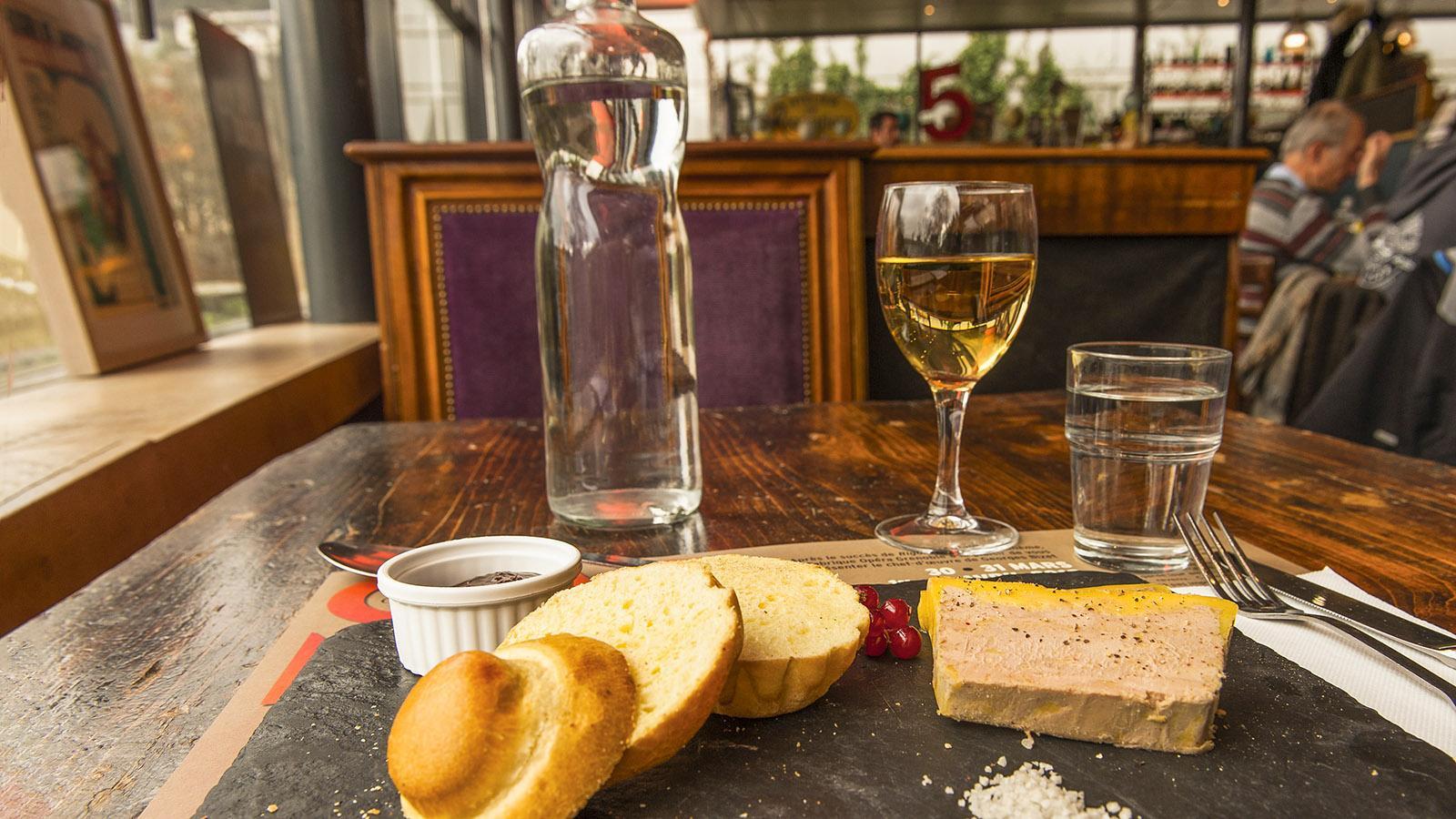 Für Franzosen nicht wegzudenken aus ihrer Küche: Stopfleber, foie gras. Foto: Hilke Maunder