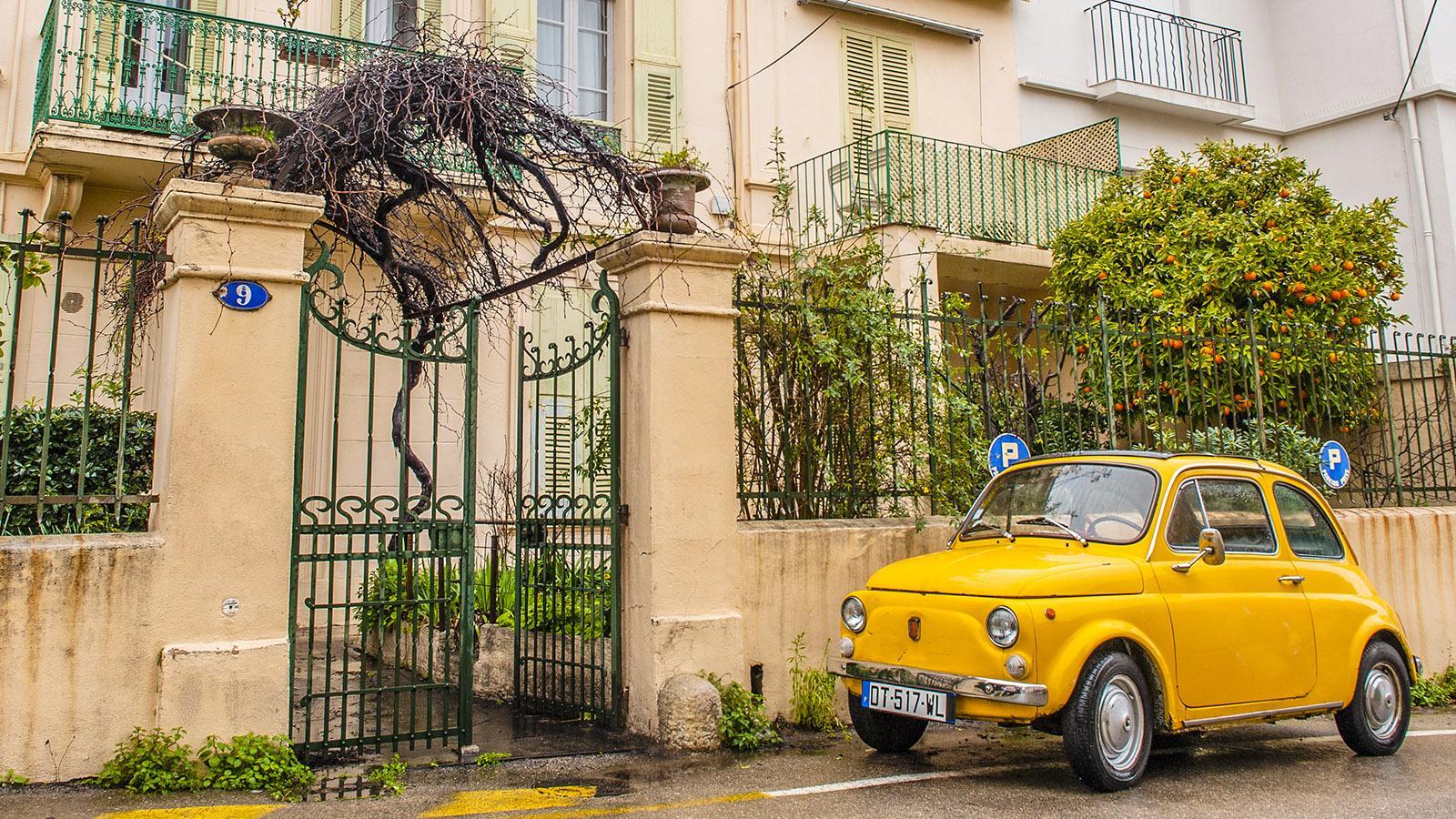Im Wohnviertel von Christine Cazon. Foto: Hilke Maunder